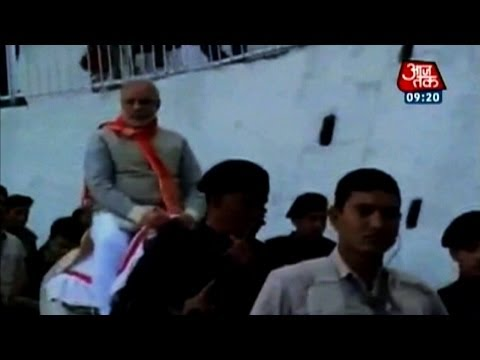 Modi visits Vaishno Devi Temple in J&K