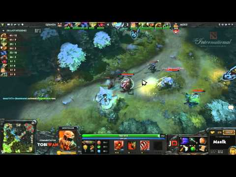 Qpanda vs Mousesports Game 2  DOTA 2 International Western Qualifiers - TobiWan & Soe