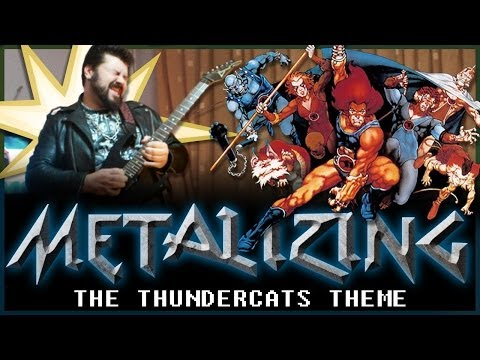 08 - Metalizing The Thundercats Theme video
