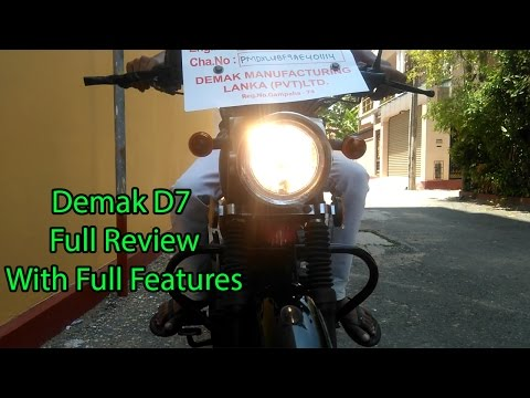 Demak D7 full Review (with features)clasical bike 125 cc