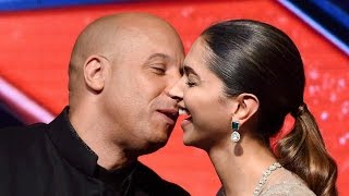 Vin Diesel Kiss Deepika Padukone On Stage In India!