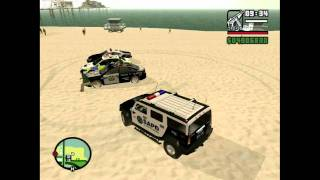 GTA San Andreas Police Car mods.