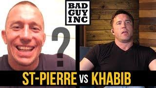 Will Georges St-Pierre fight Khabib Nurmagomedov?