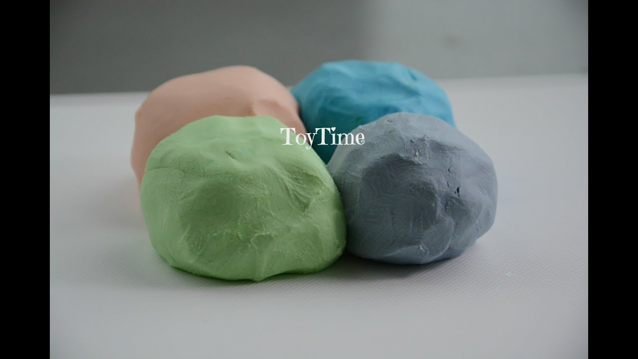 how to make play dough without creamof tarter