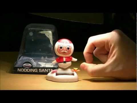 The full uncut version of the Nodding Santa review I did for Ashen's 2010 ...