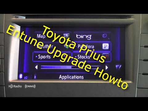 Toyota Prius Entune Upgrade - 2.1 update - HD - 1080P