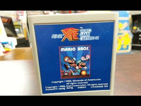 Classic Game Room - MARIO BROS. review for Atari Computers