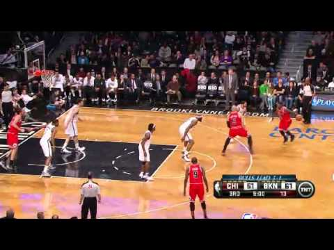 NBA Playoffs 2013: NBA Chicago Bulls Vs Brooklyn Nets Highlights April 29, 2013 Game 5