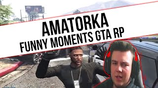 GTA RP | AMATORKA  [ AGRESJA | GRACZOL | SILNY ] | Funny Moments