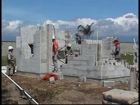 2 500 usd habiterra affordable house youtube for Cheapest construction method