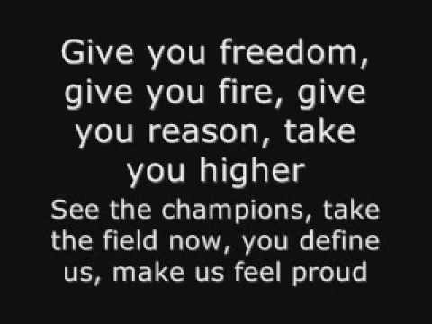 K´naan - Wavin´flag Fifa World Cup South Africa 2010 Official Theme Song Lyrics video