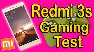 КАК ИДУТ ИГРЫ НА Xiaomi Redmi 3S! Gaming Test