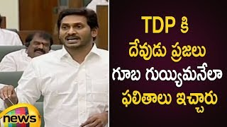 AP CM YS Jagan Satirical Comments On TDP Over AP Election Results 2019   AP Assembly Session 2019