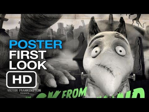 Frankenweenie – Poster First Look (2012) Tim Burton Movie HD