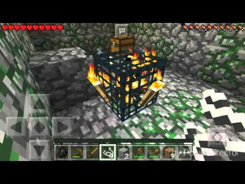 Minecraft PE | Оцеляване в буркан | Еп.1