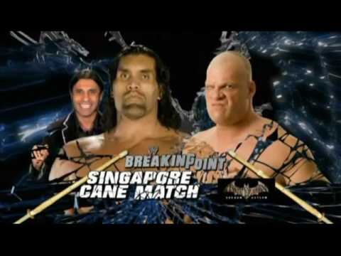 WWE Breaking Point 2009 Predictions