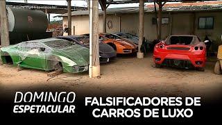 Veja como criminosos falsificavam carros de luxo numa oficina de Santa Catarina