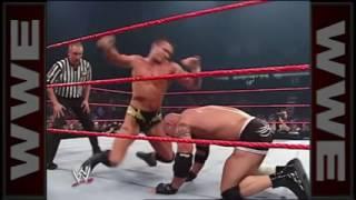 مباره لاتنسا جولد بيرغ يواجه افالوشن لوحده 1 ضد 3 من اعضم الاساطير في HD WWE