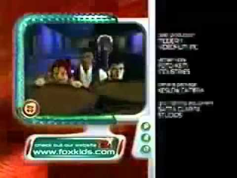 Power Rangers Time Force Fox Kids Commercial Closing With End Credits Part 1