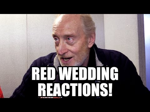 Game of Thrones Red Wedding Reactions - Tywin. Arya. Hodor. Blackfish. Margaery. Loras. Talisa