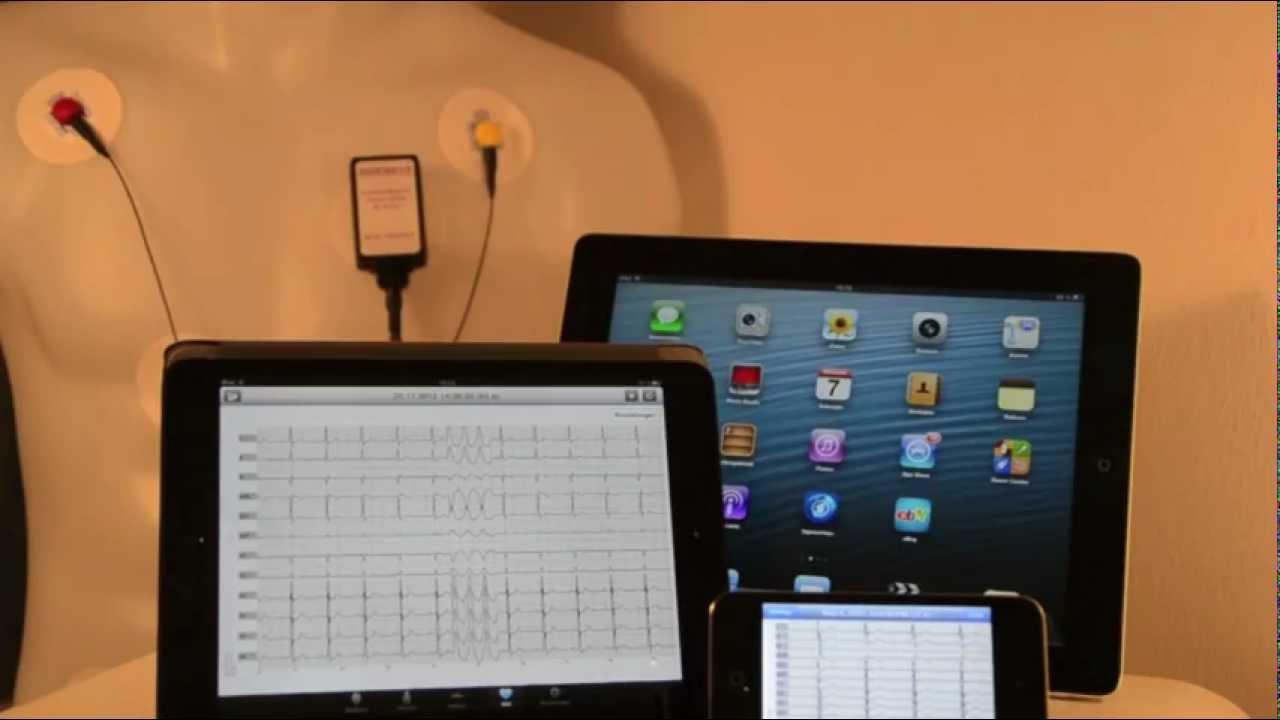 CardioScout Multi ECG Made For IPod IPhone IPad ECG