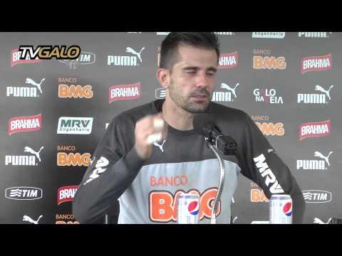 28/10/2014 Galo encerra preparação para jogo de ida da semifinal da Copa do Brasil