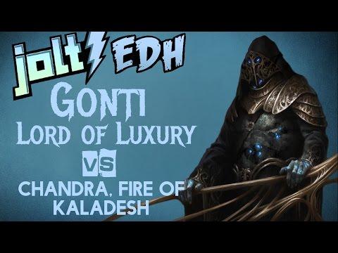 Jolt - Commander - Gonti, Lord of Luxury vs Chandra