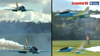 *CLOSE FORMATION* RC turbine JETS at Festival of Flight | Ragley Hall 2016