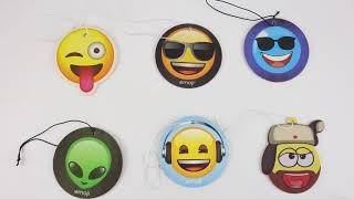 emoji funny cheap hanging car air freshener