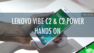 Lenovo Vibe C2 and Vibe C2 Power Hands On