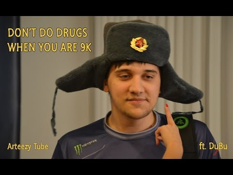 Arteezy: Don't do drugs kids 💊