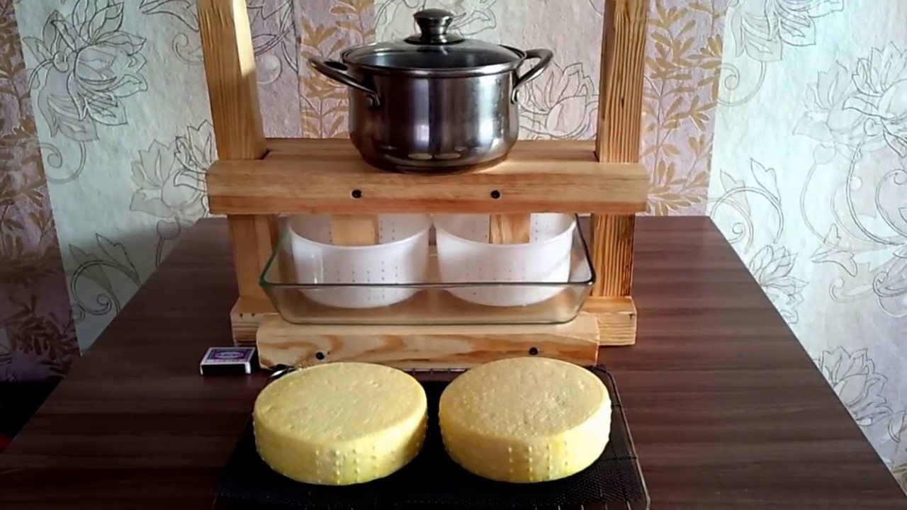 Как сделать сыр прессом 444