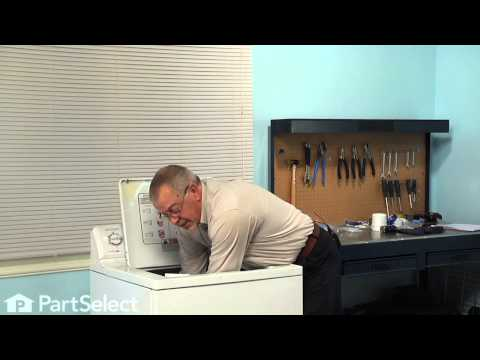 Washing Machine Repair - Replacing the Dual Action Agitator (GE Part # WH43X10034)