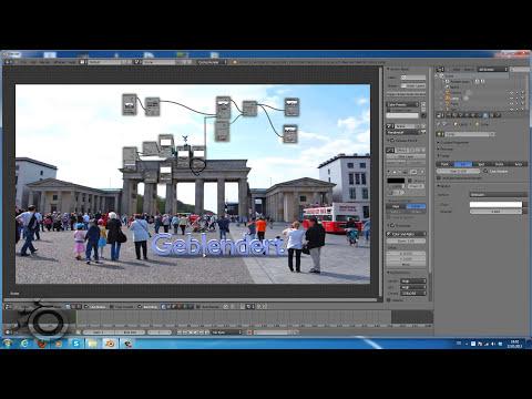 Blender 3D Text auf Foto (mit Schatten) Tutorial [Deutsch] [by Geblendert]