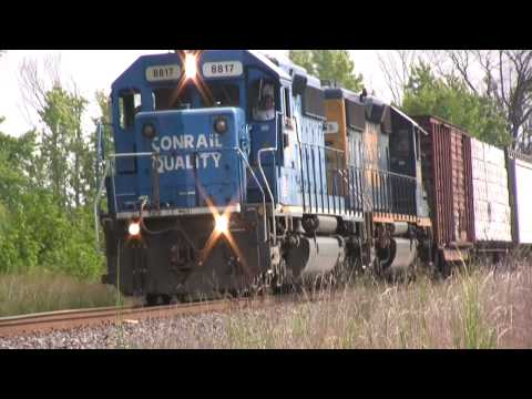 HD: Awesome Conrail SD40-2! Lots of RS3L! CSAO CA-11