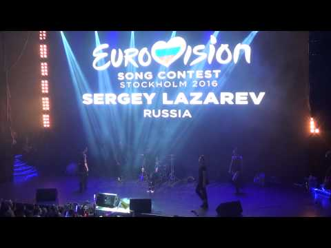 ESCKAZ in Moscow: Sergey Lazarev (Russia) - You Are The Only One (at Russian Eurovision preParty)