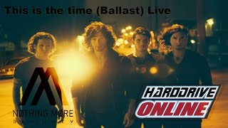 Nothing More - This Is The Time (Ballast) live at hardDriveRadio