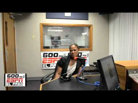 Laila Ali Talks Boxing with 600 ESPN El Paso