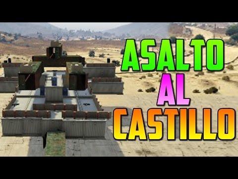 ASALTO AL CASTILLO!! - Gameplay GTA 5 Online Funny Moments