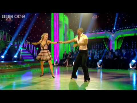 "http://www.bbc.co.uk/strictly Actor Ricky Whittle and his dance partner Natalie Lowe perform a Rock 'n' Roll to ""Hound Dog"" made famous by Elvis Presley."
