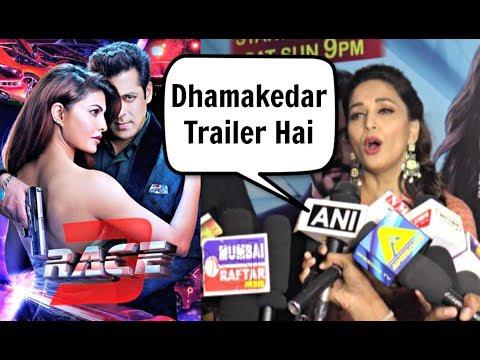 Madhuri Dixit Reaction On Race 3 Trailer thumbnail