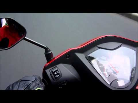 Test Ride Honda Spacy Helm-In AT NSC 110