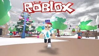 Roblox / Meep City - Santa Cop, Christmas Tree, and I Killed a Guy! / Gamer Chad Plays