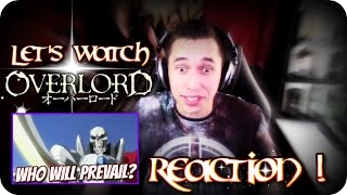 A CLIMATIC CONCLUSION!!| LET'S WATCH Overlord Final Episode REACTION!!