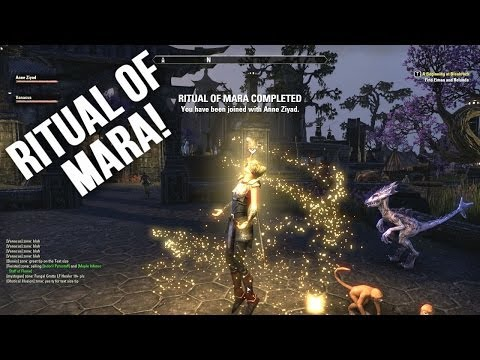 How To Get Rings Of Mara (And Get Married!) - The Elder Scrolls Online