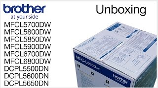 01.Unboxing the Brother MFC-L5900DW