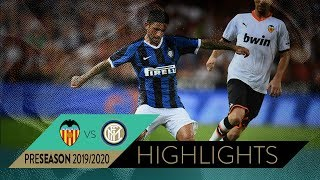 VALENCIA 1-1 INTER (6-7 pen) | HIGHLIGHTS | Trofeo Naranja 2019