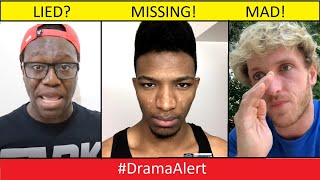 Deji Lied? Etika MISSING! Logan Paul MAD! #DramaAlert