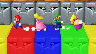 Mario Party 10 - Minigames - Mario vs Peach vs Luigi vs Wario (Master CPU)