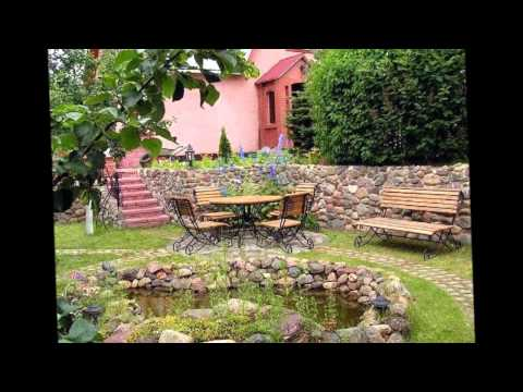 Как обустроить двор дома своими руками фото